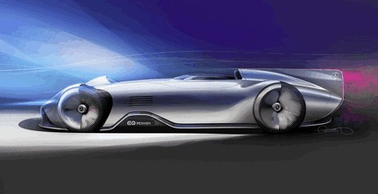 2018 Mercedes-Benz Vision EQ Silver Arrow concept 73
