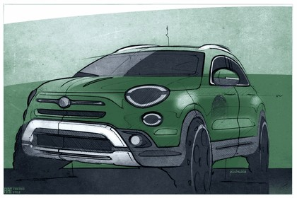 2018 Fiat 500X 76