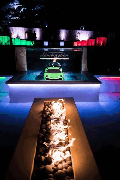 2018 Lamborghini Aventador SVJ at The Quail 7