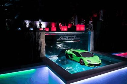 2018 Lamborghini Aventador SVJ at The Quail 8