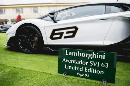 2018 Lamborghini Aventador SVJ at The Quail 16
