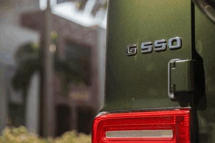 2018 Mercedes-Benz G 550 - USA version 56