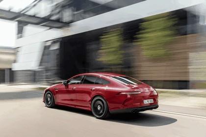 2018 Mercedes-AMG GT 43 4Matic+ 4-door coupé 3