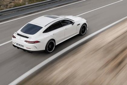 2018 Mercedes-AMG GT 43 4Matic+ 4-door coupé 14