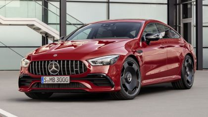 2018 Mercedes-AMG GT 43 4Matic+ 4-door coupé 8