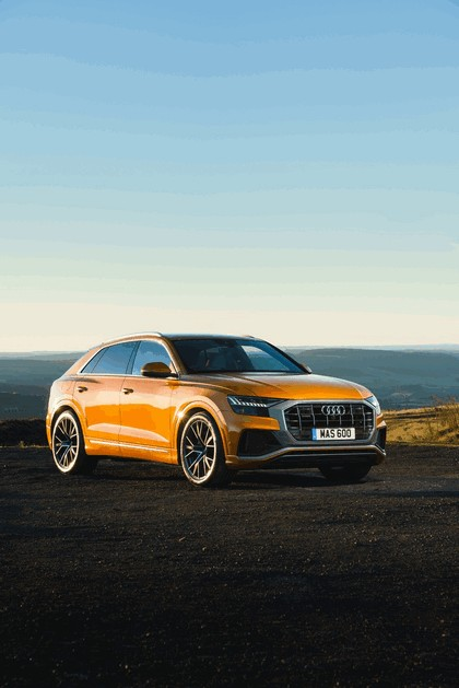 2019 Audi Q8 - UK version 18