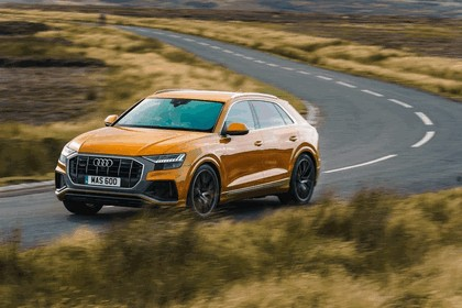 2019 Audi Q8 - UK version 55