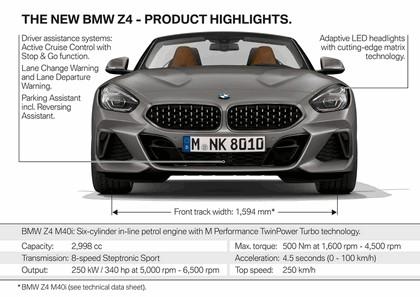 2018 BMW Z4 M40i 55