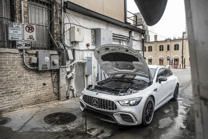 2018 Mercedes-AMG GT 53 4Matic+ 4-door coupé 9