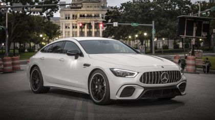 2018 Mercedes-AMG GT 53 4Matic+ 4-door coupé 7