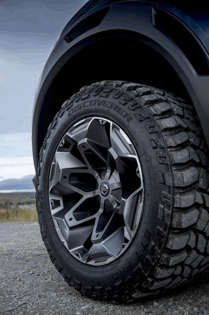 2018 Nissan Navara Dark Sky concept 28