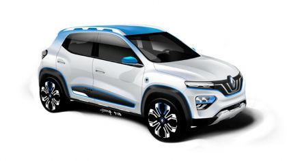 2018 Renault K-ZE concept 7