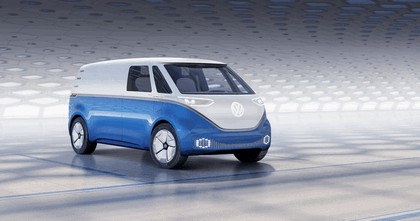 2018 Volkswagen I.D. Buzz Cargo concept 1