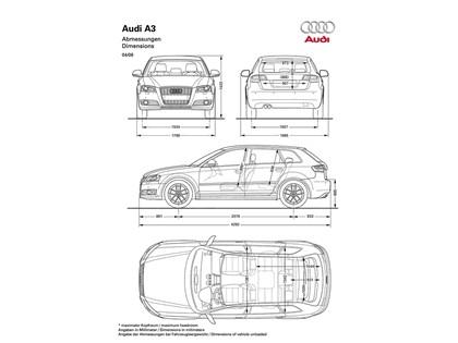 2008 Audi A3 sportback 4