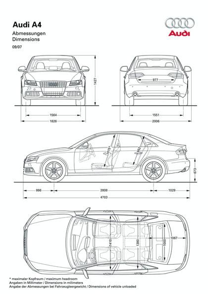 2008 Audi A4 136