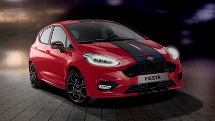 2018 Ford Fiesta ST-Line Red Black 3