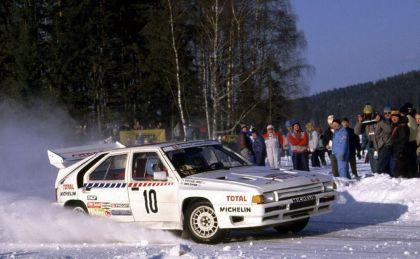 1986 Citroën BX 4TC Evo rally 6