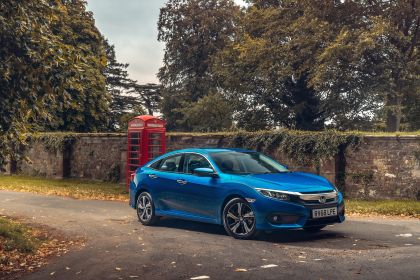 2019 Honda Civic sedan - UK version 33