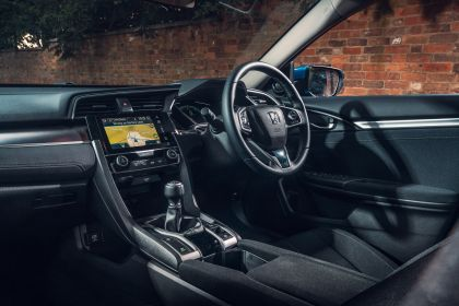 2019 Honda Civic sedan - UK version 65