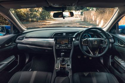 2019 Honda Civic sedan - UK version 78