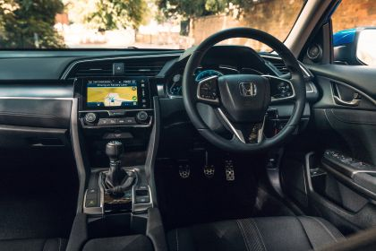 2019 Honda Civic sedan - UK version 83