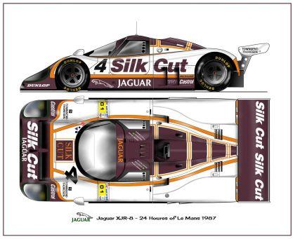 1987 Jaguar XJR8 24