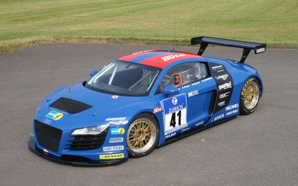 2008 Audi R8 for the 2008 24hrs Nurbrurgring 1