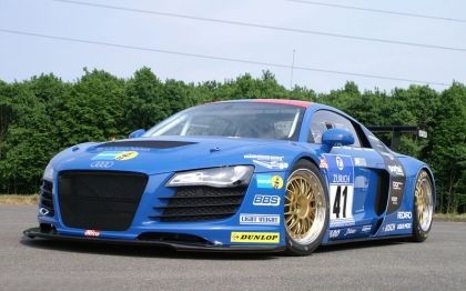 2008 Audi R8 for the 2008 24hrs Nurbrurgring 2