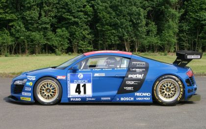 2008 Audi R8 for the 2008 24hrs Nurbrurgring 4