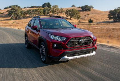 2019 Toyota RAV4 Adventure - Ruby flare pearl 11