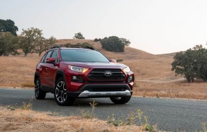 2019 Toyota RAV4 Adventure - Ruby flare pearl 25