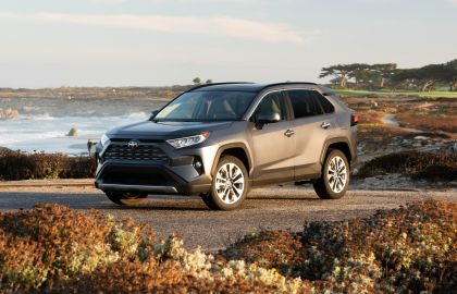 2019 Toyota RAV4 Limited FWD - Magnetic gray 3