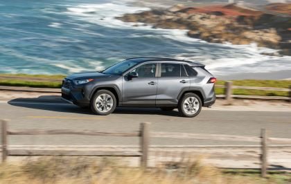 2019 Toyota RAV4 Limited FWD - Magnetic gray 13