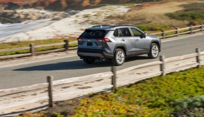 2019 Toyota RAV4 Limited FWD - Magnetic gray 15