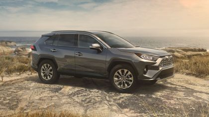 2019 Toyota RAV4 Limited FWD - Magnetic gray 4