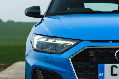 2018 Audi A1 Sportback S-line - UK version 55