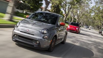 2019 Fiat 500e 1