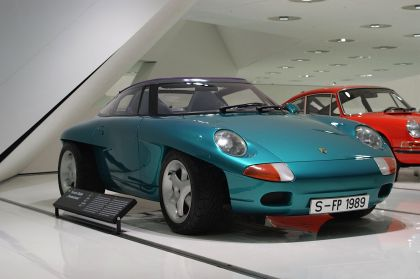 1989 Porsche Panamericana concept 11
