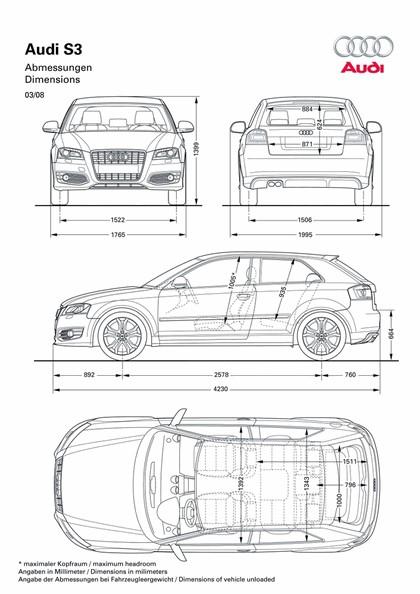 2008 Audi S3 sportback 13