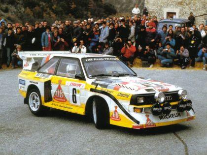 1985 Audi Quattro S1 E2 23