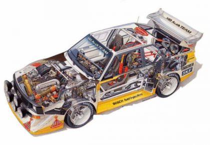 1985 Audi Quattro S1 E2 30