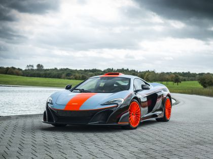 2018 McLaren 675LT - Gulf racing theme by MSO 1