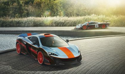 2018 McLaren 675LT - Gulf racing theme by MSO 3