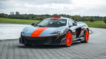 2018 McLaren 675LT - Gulf racing theme by MSO 4