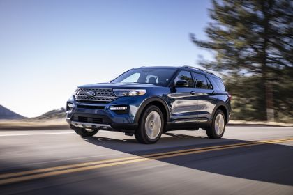 2020 Ford Explorer Limited 1