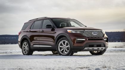 2020 Ford Explorer Platinum 9