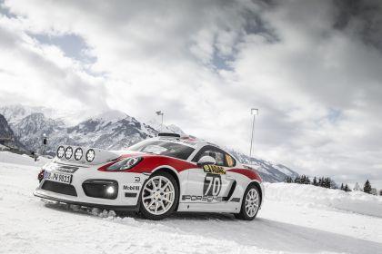 2019 Porsche Cayman GT4 rally 2