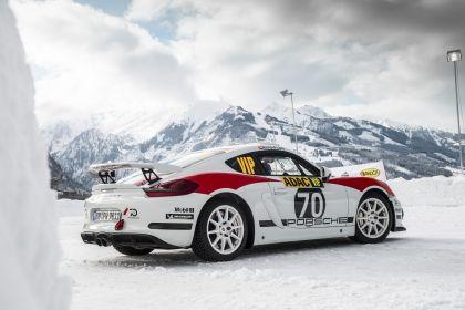 2019 Porsche Cayman GT4 rally 3