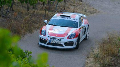 2019 Porsche Cayman GT4 rally 24