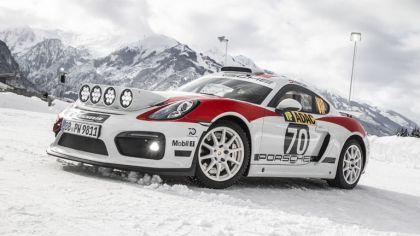 2019 Porsche Cayman GT4 rally 8